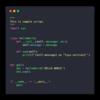 carbon (ソースコードをキレイなハイライト状態で画像にしてくれるサイト)