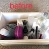 洗面台引き出しの整理と断捨離