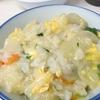 今年の七草粥は中華風の味付けにしてみました。