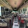 モアルボアル行きバスは快適