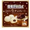 チョコ味の「雪見だいふく」2種爆誕!とろける生チョコレートとコクのショコラ味 8月31日より発売