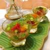 夏野菜の和風ジュレ