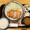 下田イオン 富金豚 重ねばらとんかつ定食とチキンカツカレー