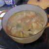 幸運な病のレシピ( 1212 )朝:シシャモ、鱒、肉じゃが(鶏ムネ)、味噌汁(生わかめ)