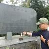 慰霊碑に済州178ヵ村の石を献じます/위령비에 제주 178개 마을의 돌을 바칩니다