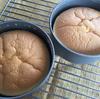 スフレチーズケーキを焼きました【フラットなスフレチーズケーキ目指して!】