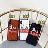 ブランド Supreme IPhoneXケース シュプリーム Iphone8//7plusスマホケース Iphone6/6s Plus Iphone6/6sカバー ジャケット スヌーピー絵柄 カード入れ 可愛