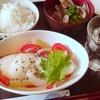 塩たらと野菜のドレッシング煮定食