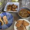 幸運な病のレシピ( 1132 )朝 :汁の仕立直し、ニシンテリテリ、鱒、目玉焼き
