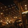 ディズニーシー:夜のヴェネツィアン・ゴンドラで夜景を楽しむ