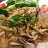 豚ロース木の子生姜焼きランチ