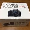 デジタル一眼レフカメラ「Canon EOS Kiss X7 ダブルズームキット」がやってきた^^