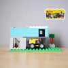 レゴ:家の作り方 LEGOクラシック10696だけで作ったよ(デザイナーズミニチュアハウス)