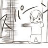 じいちゃん家で見つけたしおちゃんこの遊び【4コマ漫画+おまけ】