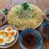 【お家でお手軽3種類 たんぱく質25g以上麺ランチ】辛辛つけ麺、カレー南蛮、ペペロンチーノ