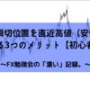 FXの損切位置を直近高値(安値)に設定する3つのメリット【初心者向け】