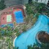 ルネサンス クアラルンプールのプール 子供も歓迎 プールに勝手に使える遊具もありました