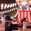 盆踊り大会と現場監督うさぎ先生