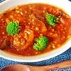 食べるもち麦スープ