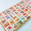 韓国のお土産図鑑001:スナック&飲み物のパッケージぷっくりシール