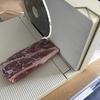 ☆久々に自分で薄切り肉を切りました