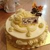 クリスマス「バタークリームケーキ」(*^▽^)/★*☆♪