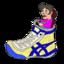 靴紐が結んでも結んでもほどけるので、ほどけない結び方「イアンノット」に挑戦した