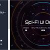 Sci-FI UI Design for uGUI メニュー画面やアニメーション、uGUIの機能を多く活用したSFデザインのUIテンプレート