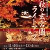 【11/16〜12/1、彦根】「錦秋の玄宮園ライトアップ」開催