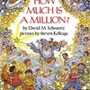 HOW MUCH IS A MILLION? by David M. Schwartz & Steven Kellogg