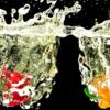 Blender 294日目。「パプリカと水しぶきのモデリング」その4(終)。