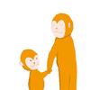 人は触れ合うと幸せになる!幸せホルモン「オキシトシン」!