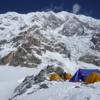 ネパ-ルの雪崩    ランタンヒマ-ル
