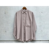 AURALEE 2020FW new arrival / WASHED FINK TWILL BIG SHIRTS