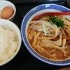 高円寺【JAC】中華そば大盛 ¥700+ライス ¥100