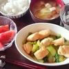 チンゲン菜と鶏ささみのオイスター炒め定食