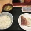 ベーコンエッグ朝食(なか卯)