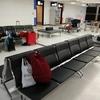 初めての空港泊