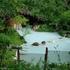 白骨温泉「泡の湯」は白濁の大露天風呂も良いけど、ぬる湯の透明な内湯が気持ちいい