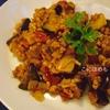 スパイスで作る「ひき肉とナスのキーマカレー」レシピ。