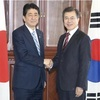 日韓首脳、対北制裁決議採択へ連携強化を確認