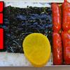 【昭和風の弁当】子供が大好き!! 卵焼きと赤ウインナーを使った弁当