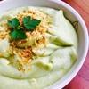 豆乳とアボカドの冷製スープ