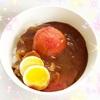 セブンイレブン【丸ごとトマトのハヤシライス】サッパリ食べれるハヤシライス