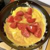 トマトと卵炒め
