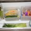 無印の『メイクボックス』で、冷蔵庫を整理整頓