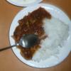 食事と私:限定品ー具沢山スープをカレーライスに変身させて、試食してみた