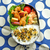 #640 鶏肉とサツマイモの甘辛炒め弁当