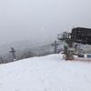 スキー場に雨は似合わない