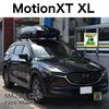 THULEブラックペイントのウイングバーEvo + MotionXT XL ブラック マツダCX-8事例
